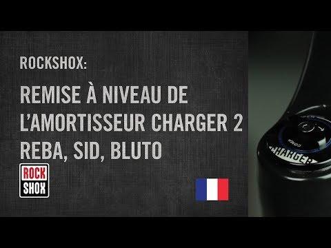 RockShox: Remise à niveau de l'amortisseur Charger 2™ - Reba, Sid, Bluto