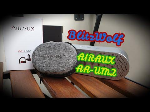 AIRAUX AA-UM2/BlitzWolf/Конкуренція Xiaomi/Спортивні Bluetooth  наушники для бігу.