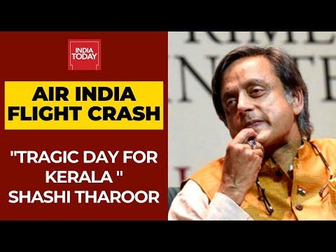 Shashi Tharoor On Air India Crash At Calicut Airport; Says Tragic Day For Kerala