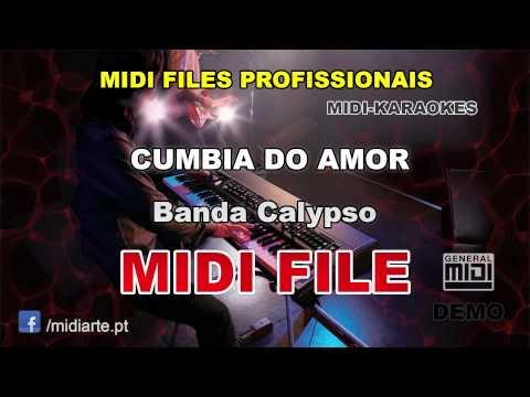 CUMBIA DO AMOR - Banda Calypso - Midiarte | Midi files e Ritmos para