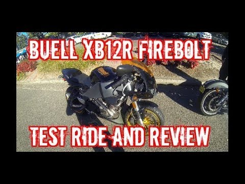 Buell XB12R Firebolt test ride and review