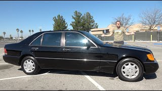 Here's Why the Mercedes S500 W140 Is the Best S-Class Ever