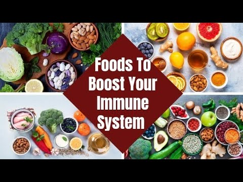 15 Foods That Boost The IMMUNE SYSTEM.