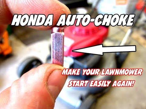 Honda Auto chokes Lawn Mower