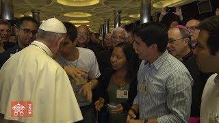 #Synod2018: il Papa in mezzo ai giovani