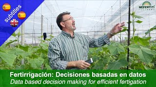 Data based decision making for efficient fertigation in greenhouse production