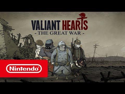 Комплект игр для Nintendo Switch Child of Light + Valiant Hearts. The Great War [русская версия]