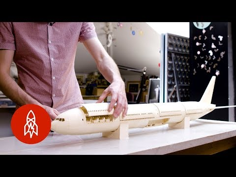 The Most Detailed Paper Plane in the World