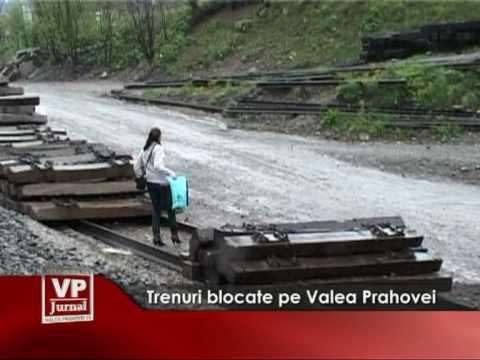 Trenuri blocate pe Valea Prahovei