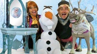 Frozen 2 Toy Party - Anna Vs. Kristoff !  || Toy Review || Konas2002