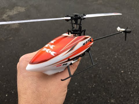 XK K110 6CH Brushless RC Helicopter Unboxing and Flight Demo Review