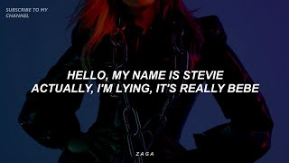 Bebe Rexha, Travis Barker - Break My Heart Myself (Lyrics)