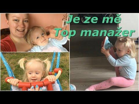 Je ze mě Top manažerka  MamaVlog