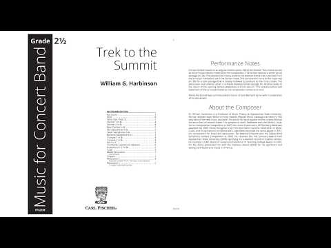 Trek to the Summit (YPS219) by William G. Harbinson