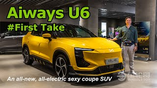 The Aiways U6 Is A Sexy, All-new, All-electric Coupe SUV