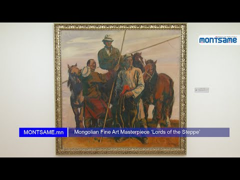 Mongolian Fine Art Masterpiece 'Lords of the Steppe'