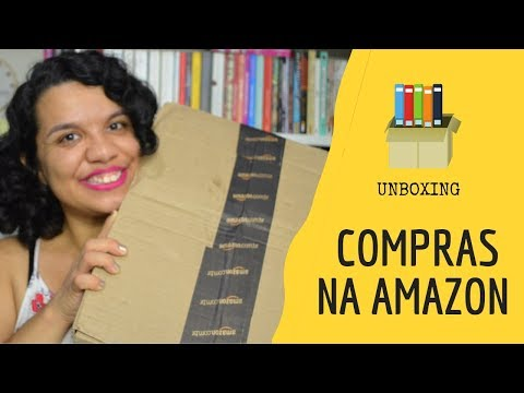 UNBOXING DE LIVROS DA AMAZON