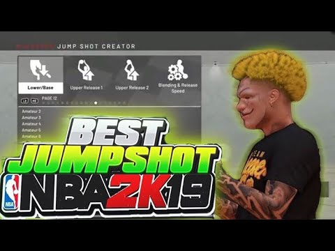 CONTESTED GREENS FROM HALFCOURT!! BEST JUMPSHOT ON NBA 2K19