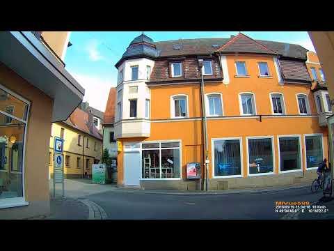 D: Kreisstadt Neustadt a.d.Aisch. Landkreis NEA. Große Stadtrundfahrt. Mai 2018