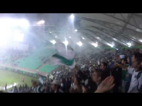 """""""Últimos min. perdiendo 0-3 ESTO ES AWANTE SEÑORES! SOMOS TEMUCO"""" Barra: Los Devotos • Club: Deportes Temuco"""