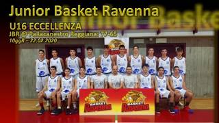 U16 E: Pall. Reggiana – JBR highlights