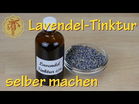 Lavendel-Tinktur selber machen