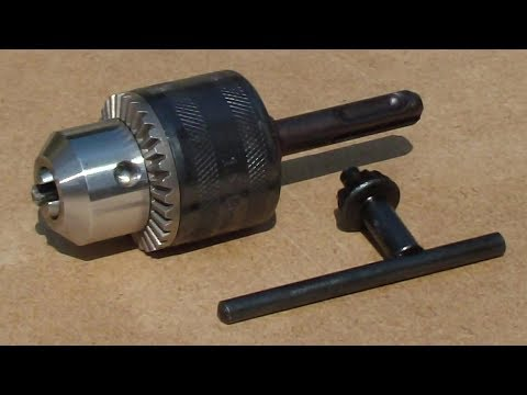 Come cambiare il MANDRINO del trapano in 5 minuti-How to change a  DRILL CHUCK in 5 Minutes