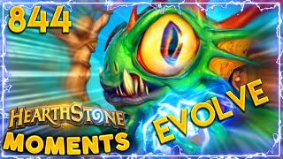 DID HE ACTUALLY GOT LUCKY??? | Hearthstone Daily Moments Ep.844