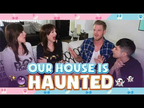 OUR HOUSE IS HAUNTED! (feat. The Psychic Twins)