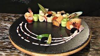 Рецепт салата из морепродуктов: мастер-класс от югорского шеф-повара