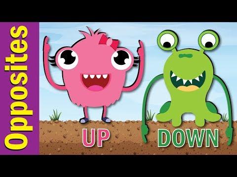 Opposites Song for Kids   Fun Kids English