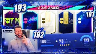 FIFA 19: 193 FUT DRAFT CHALLENGE 😱😱