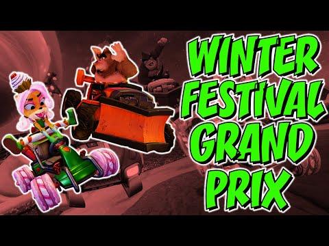 Crash Team Racing Nitro Fueled: Winter Festival Grand Prix Reveal Breakdown