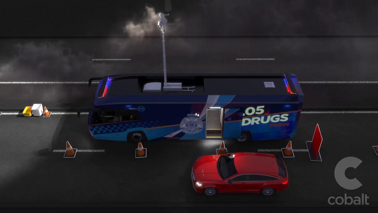 Victoria Police Alcohol & Drug Testing Vehicle