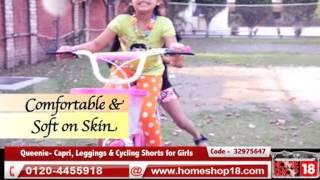 Homeshop18.com - Queenie- Capri, Leggings & Cycling Shorts For Girls By Little Star
