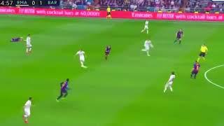 Lionel Messi Vs Sergio Ramos FIGHT! Real Madrid Vs Barcelona 0-1