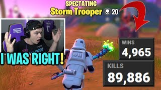 I GUESSED Everyone's STATS That I Spectated In Fortnite... (experiment)