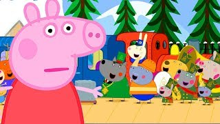 Peppa Pig Official Channel | Peppa Pig's Very Long Train Journey
