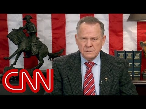 Roy Moore releases new video, doesn't concede