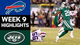 Bills vs. Jets | NFL Week 9 Game Highlights