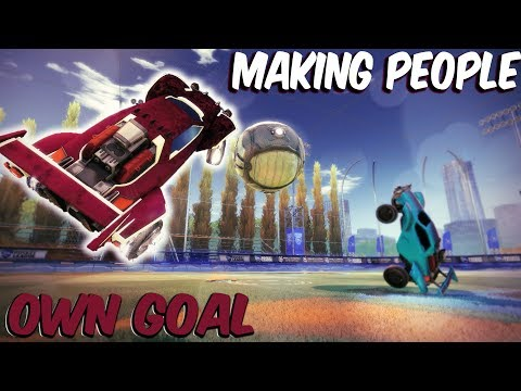 MAKING PEOPLE OWN GOAL