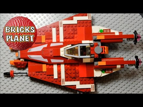 Vidéo LEGO Star Wars 9497 : Le Striker-class Starfighter