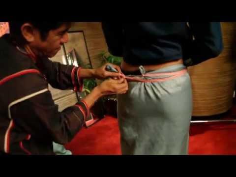 Video MERDI SIHOMBING TUTORIAL VIDEO MENGENAKAN KAIN