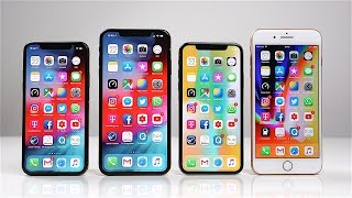 Apple iPhone Xs & Xs Max vs. iPhone X & iPhone 8 Plus: Benchmark   SwagTab