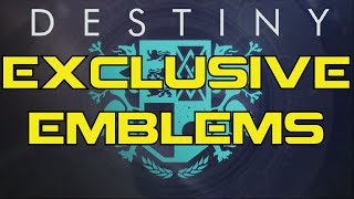 Destiny | New Exclusive Emblems | Dawn Of Destiny & Heart of the Foundation