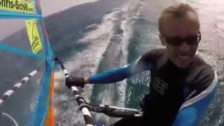 GoPro Windsurfing Karpathos Chris Schill Gun Bay