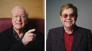 video: Watch: Sir Elton John and Sir Michael Caine appear in NHS video urging people to get vaccinated