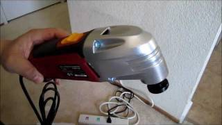 Harbor Freight Chicago Oscillating Multifunction Tool Power On Demo