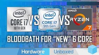 Intel Core i7-10750H vs i7-9750H vs Ryzen 4000, What's Old is New Again