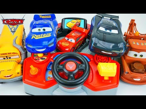Disney Cars 3 Piston Cup Thunder Hollow Vtech Video Game Toy Collection